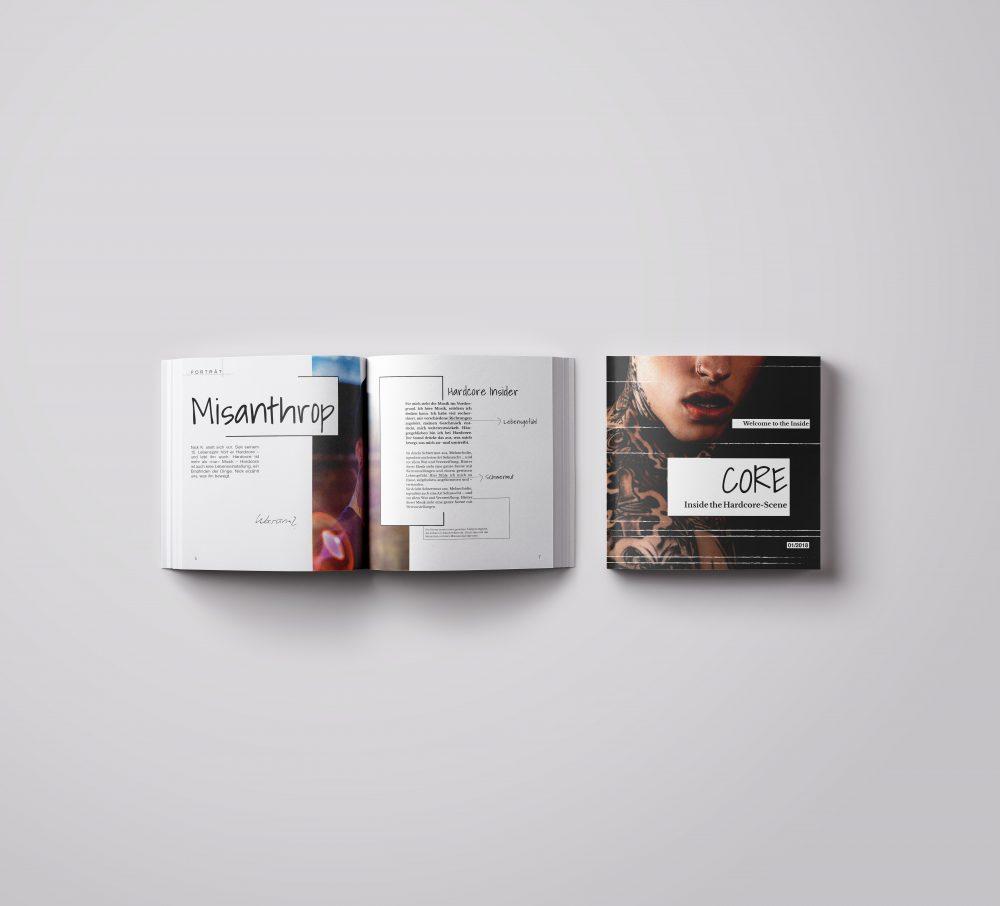Musikmagazin – Gestaltung